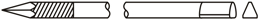 Kirschner-Draht-Trokar-mit-Gewindeansatz-Dreikant